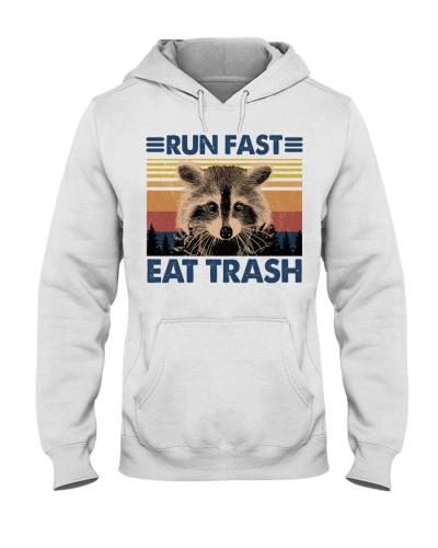 Raccoon Run Fast Eat Trash