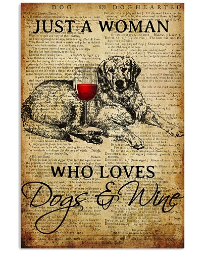 Dog Golden And Wine