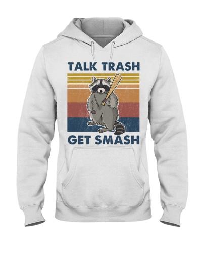 Raccoon Talk Trash Get Smash