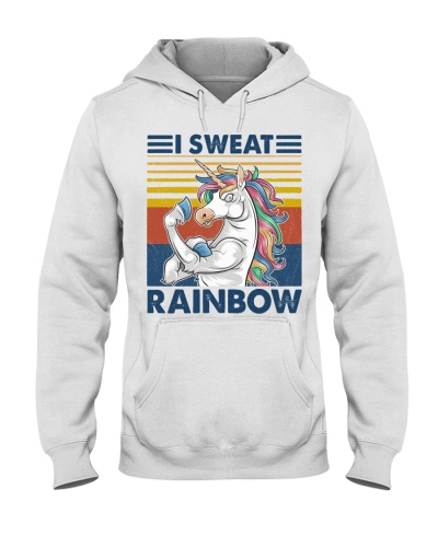 Fitness I Sweat Rainbow