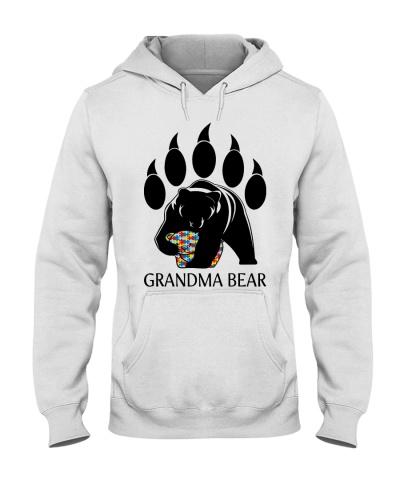 Autism Grandma Bear