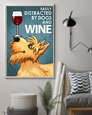 Dog Scottish Terrier And Wine 16x24 Poster lifestyle-poster-1