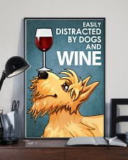 Dog Scottish Terrier And Wine 16x24 Poster lifestyle-poster-2