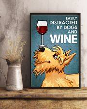 Dog Scottish Terrier And Wine 16x24 Poster lifestyle-poster-3