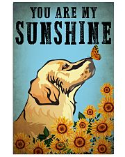 Dog Golden You Are My Sunshine 16x24 Poster front