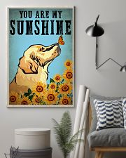 Dog Golden You Are My Sunshine 16x24 Poster lifestyle-poster-1