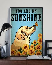 Dog Golden You Are My Sunshine 16x24 Poster lifestyle-poster-2