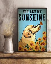 Dog Golden You Are My Sunshine 16x24 Poster lifestyle-poster-3