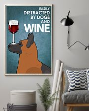 Dog K9 And Wine 16x24 Poster lifestyle-poster-1