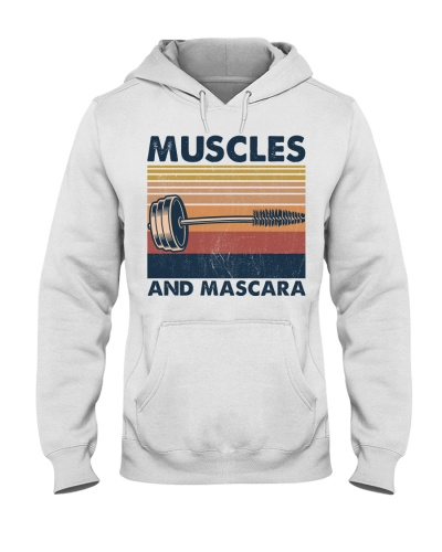 Fitness Muscles And Mascara