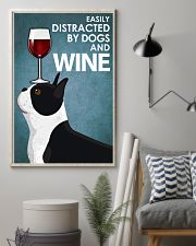 Dog Boston And Wine 16x24 Poster lifestyle-poster-1