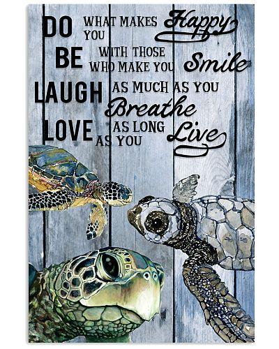 Ocean Turtle Laugh Love Live