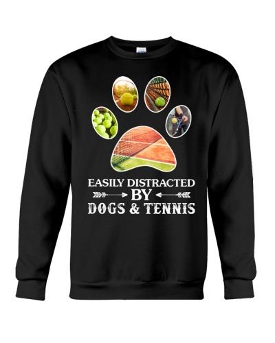 Dog And Tennis