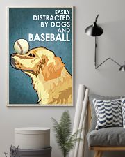 Dog Golden And Baseball 16x24 Poster lifestyle-poster-1