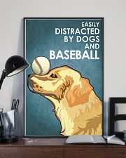 Dog Golden And Baseball 16x24 Poster lifestyle-poster-2