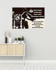 Biker Being A Biker 36x24 Poster poster-landscape-36x24-lifestyle-01