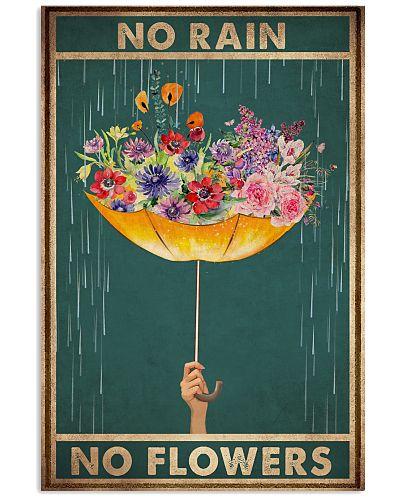Mental No Rain No Flowers