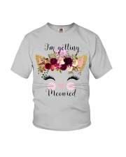 Cat I'm Getting Mewied - Hoodie And T-shirt Youth T-Shirt thumbnail