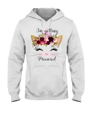 Cat I'm Getting Mewied - Hoodie And T-shirt Hooded Sweatshirt front