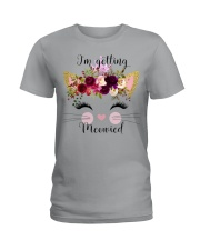 Cat I'm Getting Mewied - Hoodie And T-shirt Ladies T-Shirt thumbnail