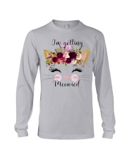 Cat I'm Getting Mewied - Hoodie And T-shirt Long Sleeve Tee thumbnail