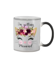Cat I'm Getting Mewied - Hoodie And T-shirt Color Changing Mug thumbnail