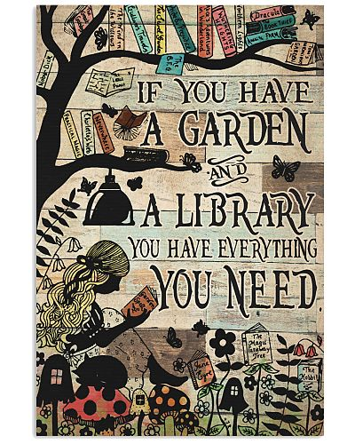 Garden And A Library