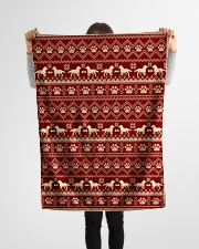 "Dog  Small Fleece Blanket - 30"" x 40"" aos-coral-fleece-blanket-30x40-lifestyle-front-14"