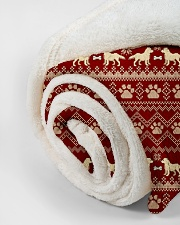 "Dog  Small Fleece Blanket - 30"" x 40"" aos-coral-fleece-blanket-30x40-lifestyle-front-18"