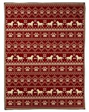 "Dog  Small Fleece Blanket - 30"" x 40"" front"
