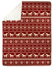 Dog  Sherpa Fleece Blanket tile