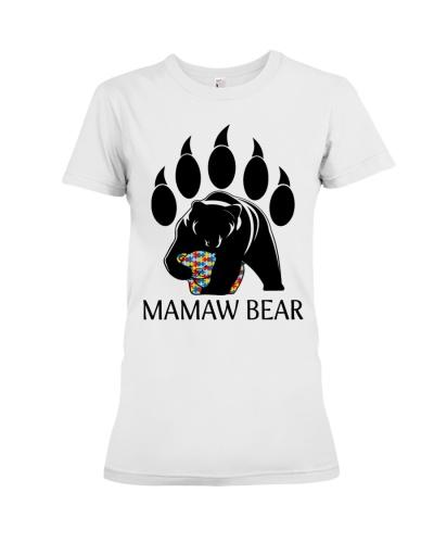 Autism Mamaw Bear