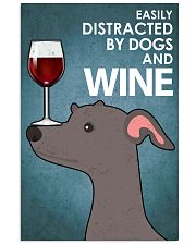 Dog Greyhound And Wine 16x24 Poster front