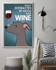 Dog Greyhound And Wine 16x24 Poster lifestyle-poster-1