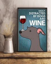 Dog Greyhound And Wine 16x24 Poster lifestyle-poster-3
