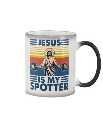 Fitness Jesus Is My Spotter