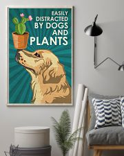 Dog Golden And Plants 24x36 Poster lifestyle-poster-1