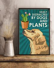Dog Golden And Plants 24x36 Poster lifestyle-poster-3