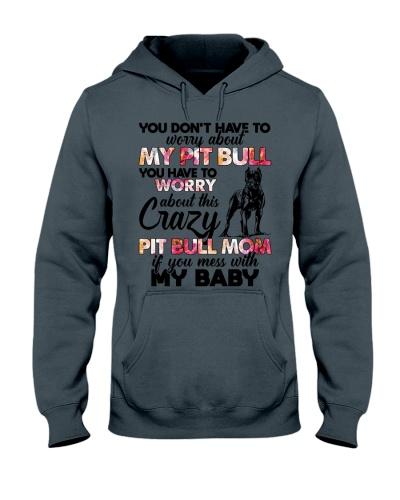 Dog Crazy Pitbull Mom