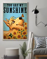 Dog Schnauzer You Are My Sunshine 16x24 Poster lifestyle-poster-1