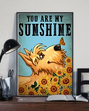 Dog Schnauzer You Are My Sunshine 16x24 Poster lifestyle-poster-2