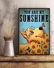 Dog Schnauzer You Are My Sunshine 16x24 Poster lifestyle-poster-3