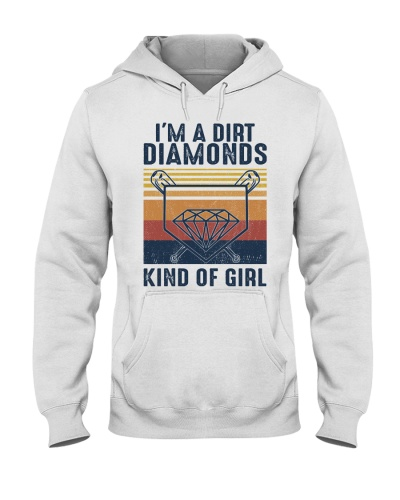 Softball I'm A Dirt Diamonds Kind Of Girl