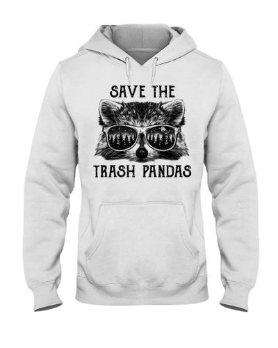 Raccoon Save The Trash Pandas