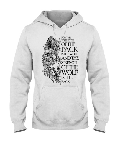 Wolve For The Strength Of The Pack Is The Wolf