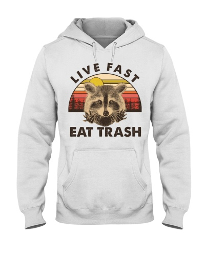 Camping Live Fast Eat Trash