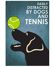 Dog Labrador And Tennis 16x24 Poster front