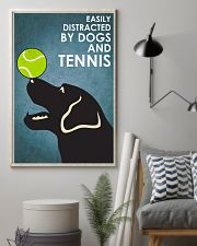 Dog Labrador And Tennis 16x24 Poster lifestyle-poster-1