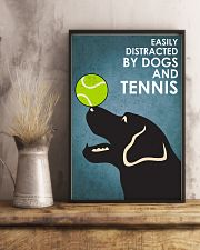 Dog Labrador And Tennis 16x24 Poster lifestyle-poster-3