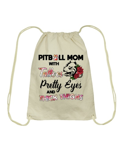 Dog Pitbull Mom With Tattoos